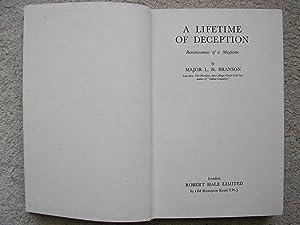 A Lifetime of Deception, Reminiscences of a: Major L. H.
