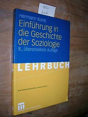 Einführung in die Geschichte der Soziologie.: Korte, Hermann: