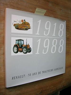 1918 - 1988. Renault: 70 Ans de
