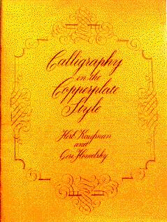 Calligraphy in the Copperplate Style: Kaufman, Herb, and