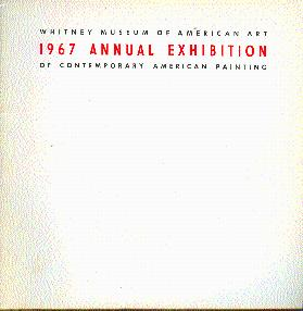 1967 Annual Exhibition of Contemporary American Painting