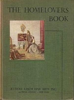 The Homelovers Book: Etchings, Engravings and Colour: Cox, Warren E.