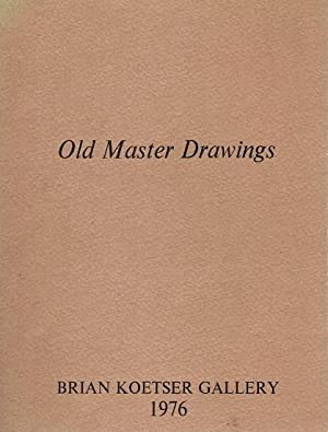 Exhibition of Old Master Drawings: Brian Koetser Gallery