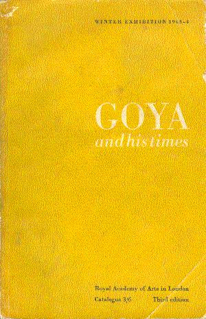 Goya and His Times: Troutman, Philip