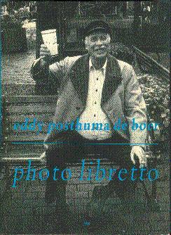 Photo Libretto: Posthuma de Boer,
