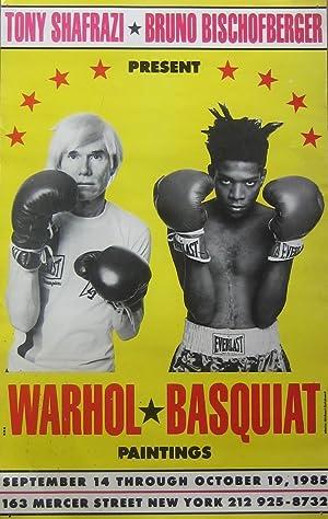 Tony Shafrazi, Bruno Bischofberger present Warhol Basquiat: Warhol, Andy, and