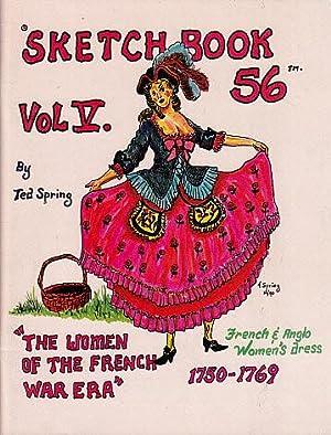 Sketchbook 56, Vol. V: The Women of: Spring, Ted