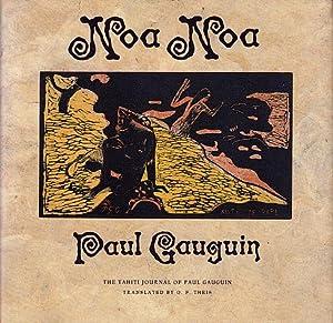 Noa Noa: The Tahiti Journal of Paul: Gauguin, Paul; Theis,
