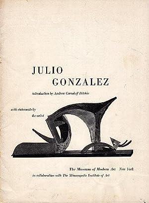 Julio Gonzalez: Ritchie, Andrew Carnduff