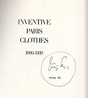 Inventive Paris Clothes, 1909-1939: A Photographic Essay: Penn, Irving (Photographs