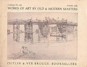 Works of Art by Old & Modern: Zeitlin & Ver