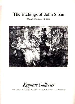The Etchings of John Sloan: Sloan, John; Greenberg,
