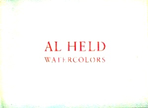 Al Held Watercolors: Forge, Andrew