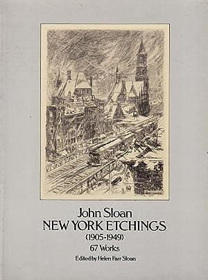 John Sloan: New York Etchings (1905-1949): Sloan, John; Sloan,