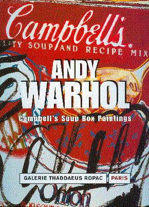 Andy Warhol: Campbell's Soup Boxes: Goldberg, Itzhak