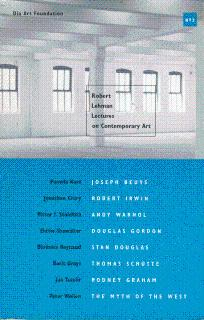 Robert Lehman Lectures on Contemporary Art: Cooke, Lynne, and