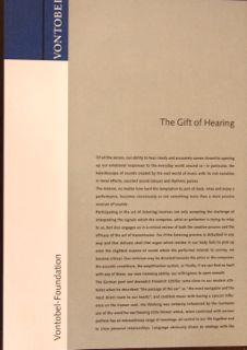 The Gift of Hearing. Mit farbigen Zeichnungen von Tomi Ungerer: Herrmann, Gabrielle