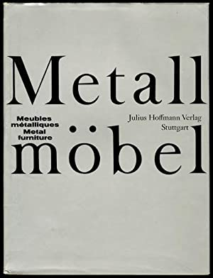 Metallmobel (Meubles Metalliques / Metal Furniture): Pfannschmidt, Ernst Erik