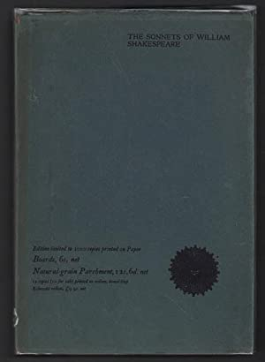 Sonnets of William Shakespeare: The Riccardi Press: Shakespeare, William