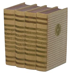 Remembrances of Things Past, Four-Volume Set, Complete: Proust, Marcel