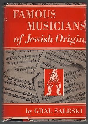Famous Musicians of Jewish Origin: Saleski, Gdal