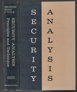 Security Analysis: Principles and Technique, 4th Edition: Graham, Benjamin