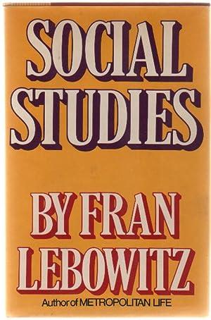 Social Studies: Fran Lebowitz