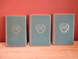 The Poetical Works of Oliver Wendell Holmes in Three Volumes (with original flip-top slipcase): ...