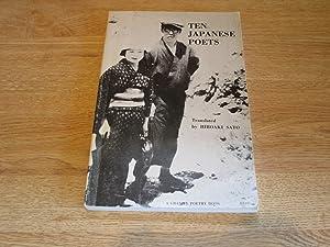 Ten Japanese poets (A Granite poetry book): Sato, Hiroaki