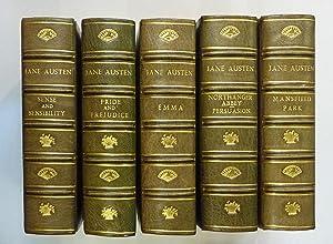 Complete Set of The Novels of Jane: Jane Austen, Edited