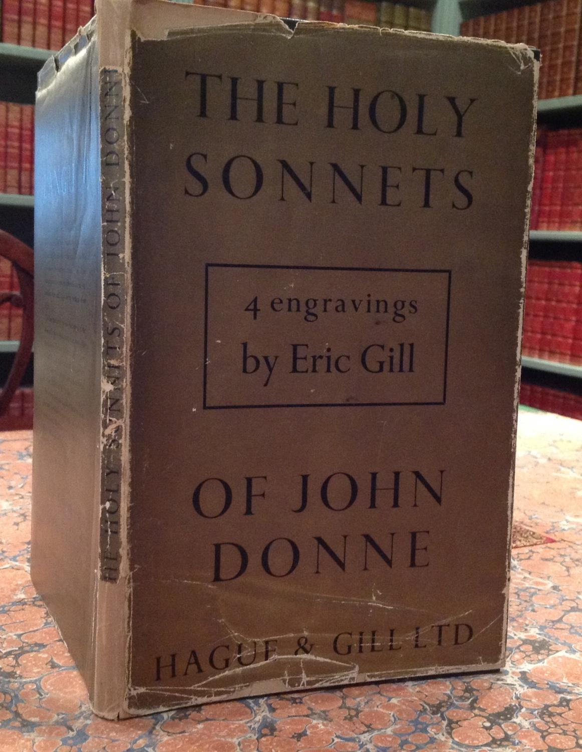 The Holy Sonnets, with engravings by Eric Gill: Donne (John), introduction by Hugh l'A. Fausset: