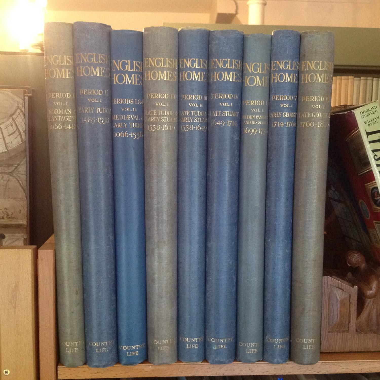 English Homes: Norman and Plantagenet; Mediaeval and Early Tudor; Early Tudor; Late Tudor and Early...