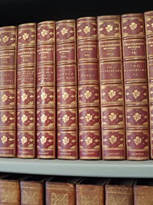 The Works: 24 volumes.: Thackeray (William Makepeace):