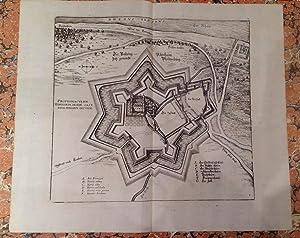 Die Vestung Udenheim Jetz genandt Philipsburg: Merian (Matthäus):