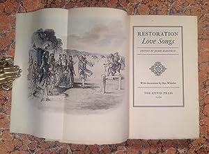 Restoration Love Songs.: Hadfield (John), editor: