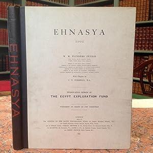 Ehnasya, 1904.: Petrie (W.M.Flinders):