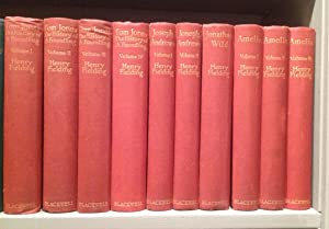 The Shakespeare Head Edition of Fielding's Novels: 10 volumes complete.: Fielding (Henry):