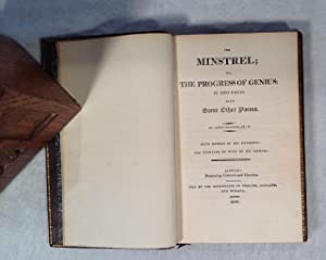 The Minstrel; or, the Progress of Genius: In two Parts with some other Poems.: Beattie (James):