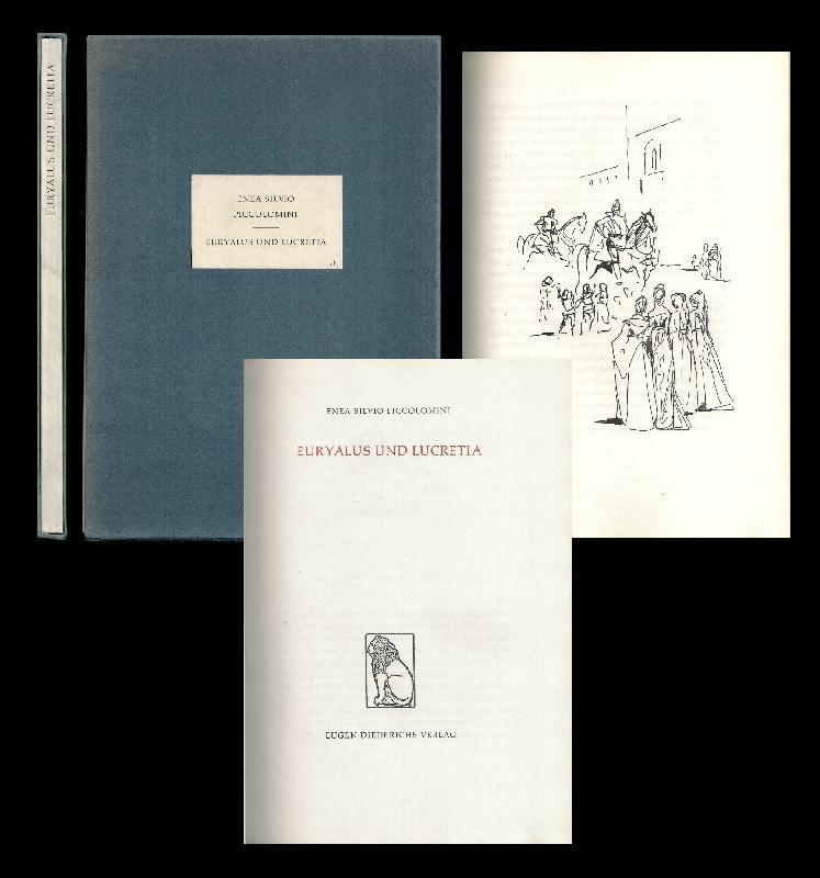 Euryalus und Lukretia. Aus d. Latein. von: Christine Gräfin von