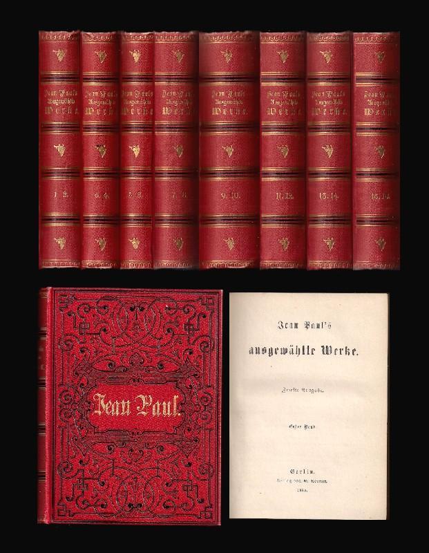 Ausgewählte Werke. Zweite Ausgabe. 16 Tle. in: Jean Paul (eigtl.