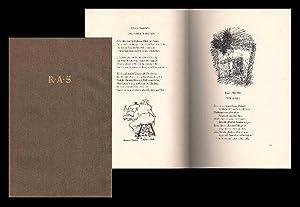 Fünf Nachdichtungen mit Federzeichnungen von Josef Hegenbarth.: Hegenbarth, Josef (1884-1962)