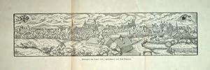 München im Jahre 1559. Holzschnitt.: Faksimile. - München.
