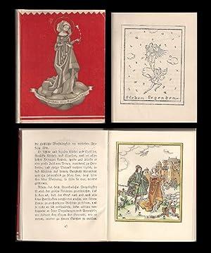 Sieben Legenden. Mit 16 Originallithographien und Buchschmuck: Löw, Fritzi (Illustr.).
