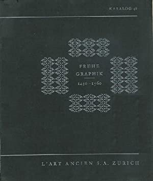 Katalog 48: Frühe Graphik 1450-1560.: Antiquariatskataloge. - L'Art
