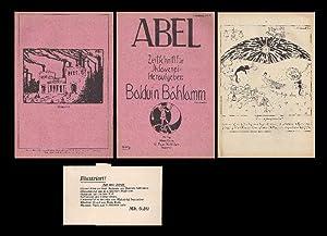 Abel. Zeitschrift für Sklaverei. Herausgeber: Balduin Bählamm.: Mühsam, Erich. -
