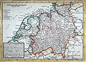 The North West Part of Germany; Containing ye Dominions of ye Arch. and El. of Cologne, Westphali...
