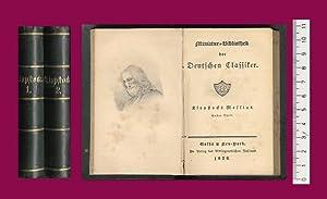 Oden. Messias, 1.-6. Theil (d. i. 1.-12.: Klopstock, Friedrich Gottlieb