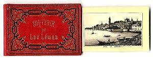 Souvenir du Lac Léman. Album.: Schweiz. - Lac