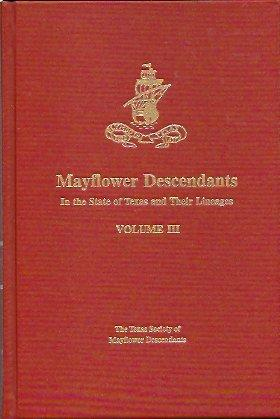 Mayflower Descendants In the State of Texas: Williams, Barbara Lewis
