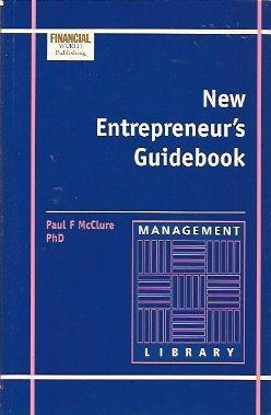 New Entrepreneur's Guidebook: McClure, Paul